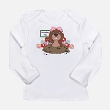 Unique Groundhog Long Sleeve Infant T-Shirt