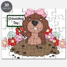 Funny Groundhog Puzzle