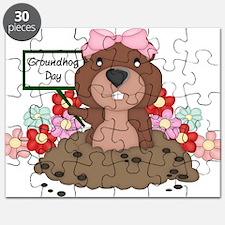 Cute Groundhog Puzzle