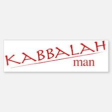 Kabbalah Man Bumper Bumper Bumper Sticker