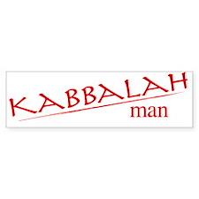 Kabbalah Man Bumper Bumper Sticker