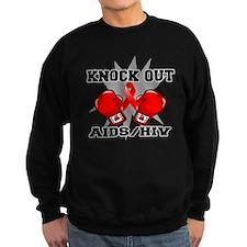 Knock Out AIDS Sweatshirt