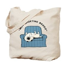 "Keeshond ""Non-Sporting Breed"" Tote Bag"