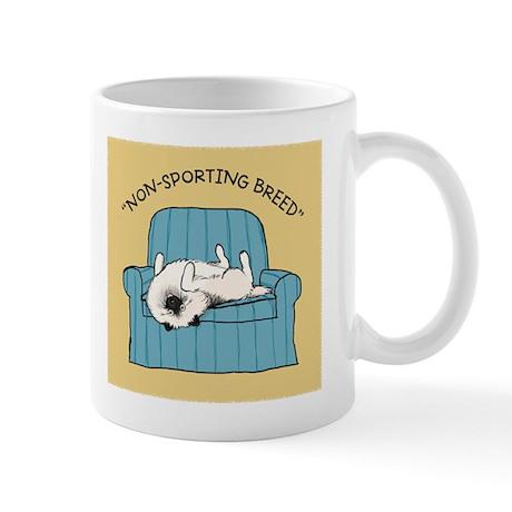 "Keeshond ""Non-Sporting Breed"" Mug"