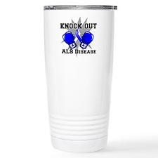 Knock Out ALS Travel Mug