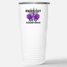 Knock Out Alzheimers Travel Mug