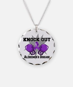 Knock Out Alzheimers Necklace