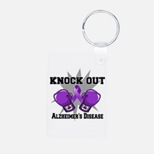Knock Out Alzheimers Keychains