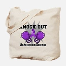 Knock Out Alzheimers Tote Bag