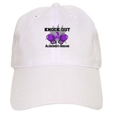 Knock Out Alzheimers Baseball Cap