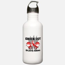 Knock Out Aplastic Anemia Water Bottle