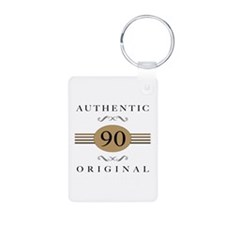 Authentic 90th Birthday Keychains