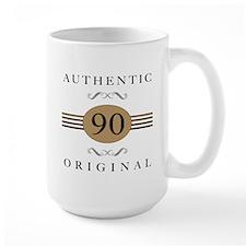 Authentic 90th Birthday Mug