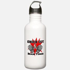 Knock Out Brain Tumor Water Bottle