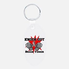 Knock Out Brain Tumor Keychains