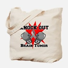 Knock Out Brain Tumor Tote Bag