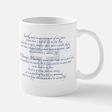 Prayer of St. Francis Mug