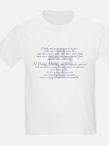 Prayer of St. Francis T-Shirt