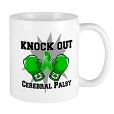 Knock Out Cerebral Palsy Small Mug