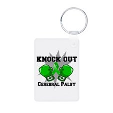 Knock Out Cerebral Palsy Keychains