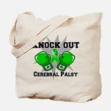 Knock Out Cerebral Palsy Tote Bag