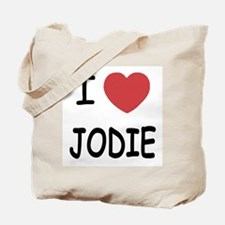 I heart jodie Tote Bag