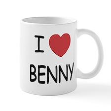 I heart benny Mug