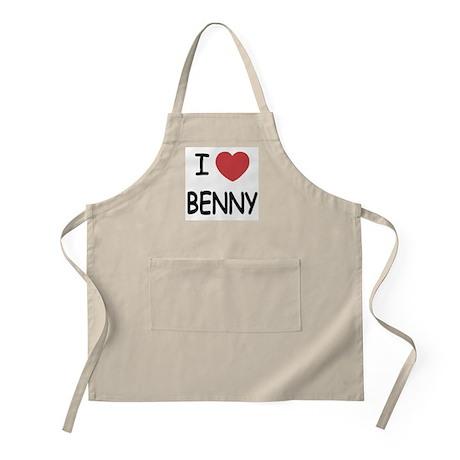 I heart benny Apron