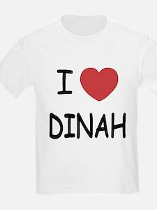 I heart dinah T-Shirt