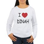 I heart dinah Women's Long Sleeve T-Shirt