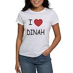 I heart dinah Women's T-Shirt