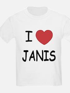 I heart janis T-Shirt