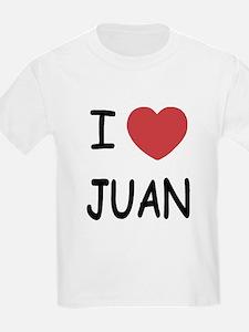 I heart juan T-Shirt