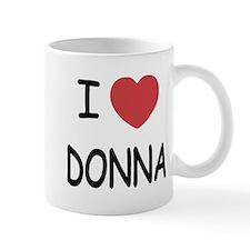 I heart donna Mug