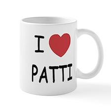 I heart patti Mug