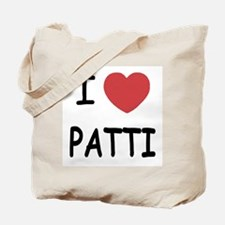 I heart patti Tote Bag