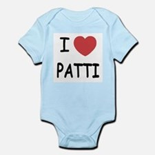 I heart patti Infant Bodysuit