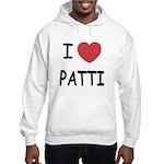 I heart patti Hooded Sweatshirt