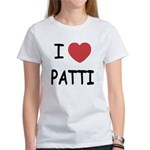 I heart patti Women's T-Shirt