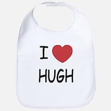 I heart hugh Bib