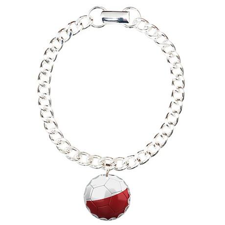 Team Poland Charm Bracelet, One Charm