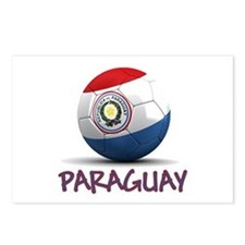 Team Paraguay Postcards (Package of 8)