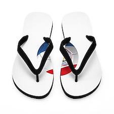 Team Paraguay Flip Flops