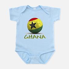Team Ghana Infant Bodysuit