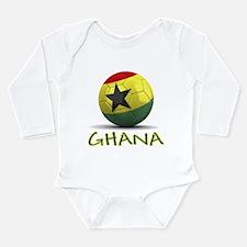 Team Ghana Long Sleeve Infant Bodysuit