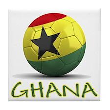 Team Ghana Tile Coaster