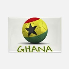 Team Ghana Rectangle Magnet