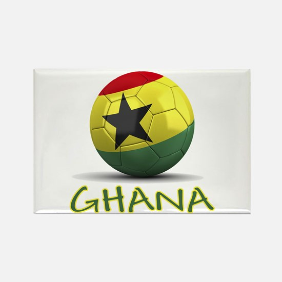 Team Ghana Rectangle Magnet (10 pack)
