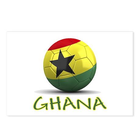 Team Ghana Postcards (Package of 8)