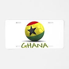 Team Ghana Aluminum License Plate
